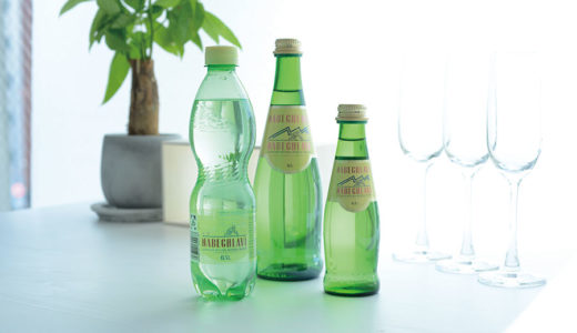 ミネラル含有量世界一*  天然ミネラル発泡水で美も健康も