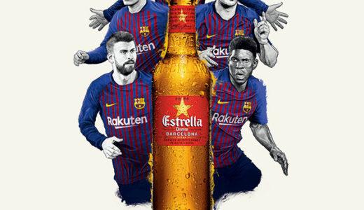 Rakuten CUP 観戦のお供に!FC バルセロナ公式ビール