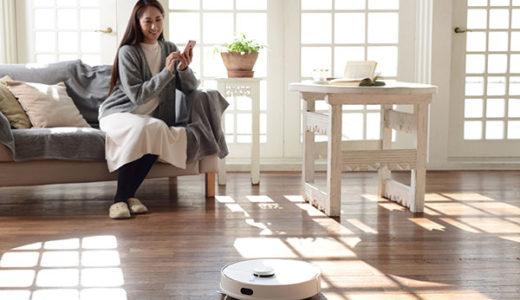 ライフスタイルが変わる 掃除と水拭きが同時にできるお掃除ロボット日本上陸!