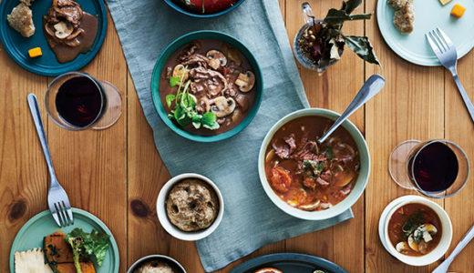 耐熱温度は-20℃~220℃ 食器を変えるだけでオシャレな食卓♪