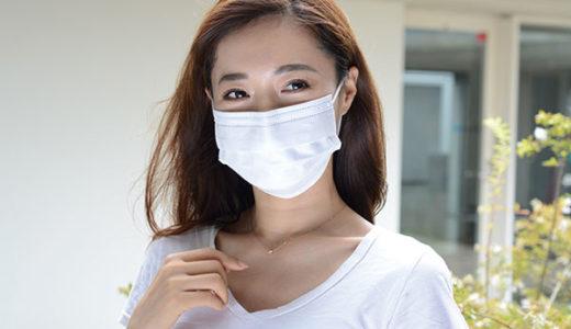 冷感の夏用マスクで熱中症対策 長時間つけても耳が痛くなりにくい