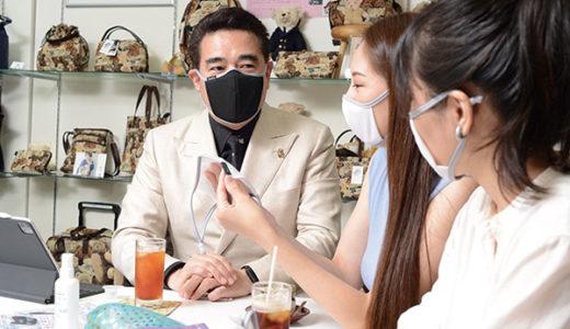 蒸れたり息苦しくならない夏用マスク メイクがつきにくく何度でも使える!