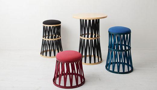 インテリアのアクセントになる竹の椅子 軽いから持ち運びも楽
