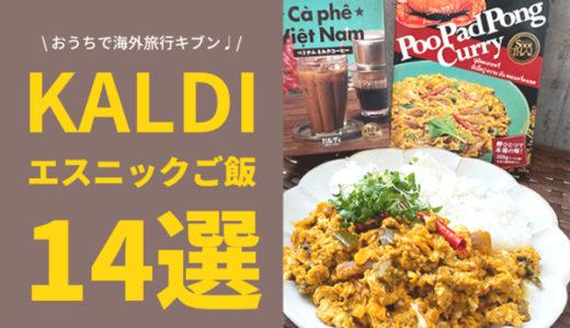 【KALDI】カルディでエスニックご飯 おうちでGo To アジア気分