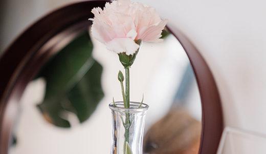 おうち時間が充実!多忙な女子でも一輪の花で簡単インテリア