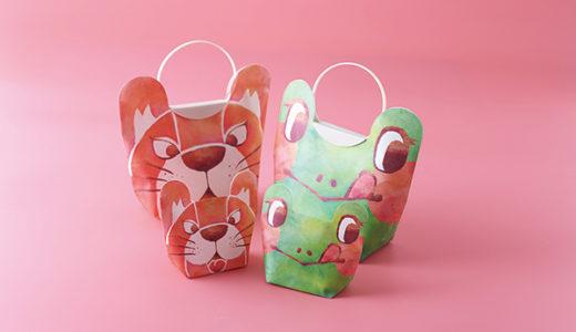 プレゼントのラッピングに使える♪ アニマル柄がかわいいプチ紙袋